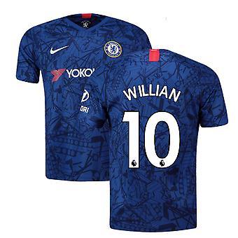 2019-20 Chelsea Home Shirt (Willian 10)
