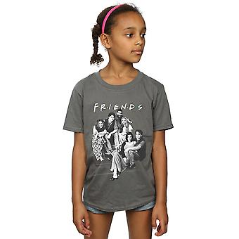 Friends Girls Group Stairs T-Shirt