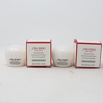 Shiseido Essential Energi Fuktighetsgivende Gel Cream Mini (Pakke av 2) 2X0.35oz Nye