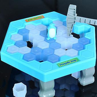 Save Penguin Ice Kids- Puzzle Desk Jeu Break Ice Hammer Trap Party