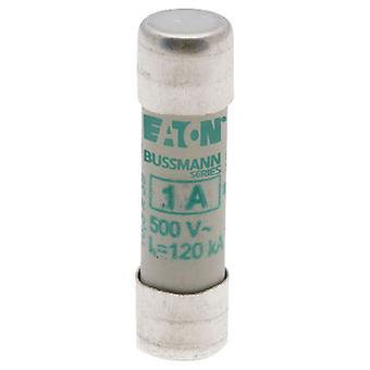 Bussman C10M1 1A AM 500Vac 10x38mm Cylindrical Fuse