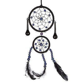 Decorative Woven Black Dreamcatcher X 1 Pack