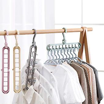 Multi-function Nine-hole 360 Rotating - Hanger For Wardrobe Drying Clothes