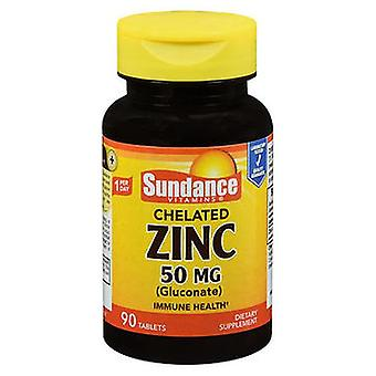 Sundance Sundance Vitamins Chelated Zinc (Gluconate) Tablets, 50 mg, 90 Tabs