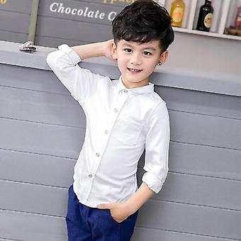 Boy's Casual Suit In 2-piece Coat + Pants