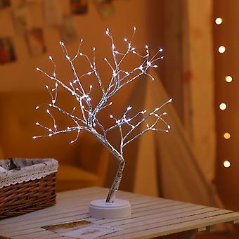 mini juletre LED nattlys for hjem barn soverom innredning fairy lys ferie belysning
