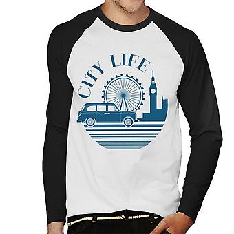 London Taxi Company City Life Men's Baseball camiseta de manga larga