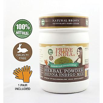 Herbal Henna & Indigo Mix Hair Color Powder