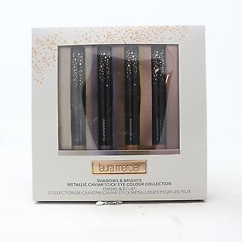 Laura Mercier Shadow & Brights Metallic Caviar Stick Eye Color Collection Nueva