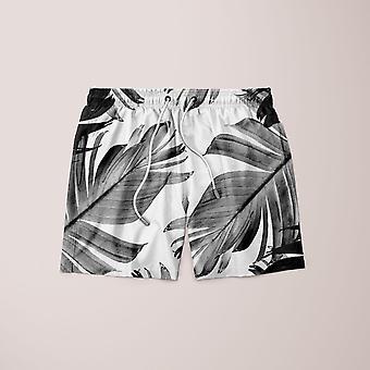 Tropical banana leaves pattern  shorts