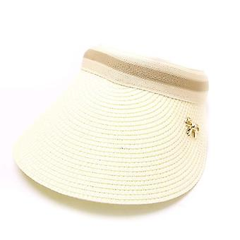 Women Summer Visors Hat Foldable Sun Protection Cap