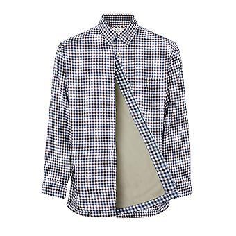 Walker and Hawkes - Mens Heathfield Fleece Lined Shirt