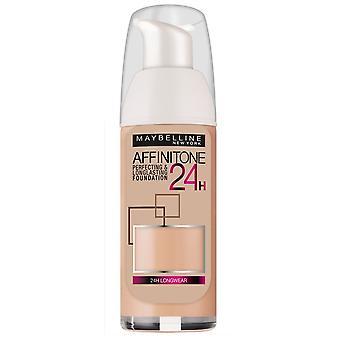 Maybelline Affinitone 24H Long Lasting Foundation SPF19 30ml - Choose Shade