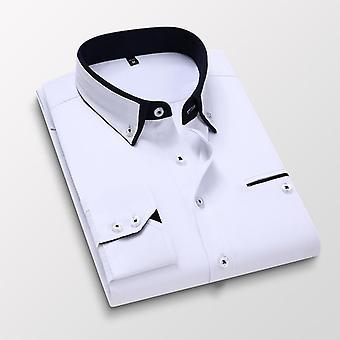 الرجال قميص طويل الأكمام، سليم صالح، لا الحديد، ملابس عارضة قمصان الذكور