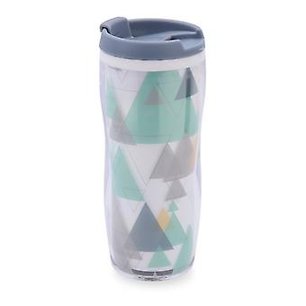 Travel thermos flask Quid Mint Plastic 0