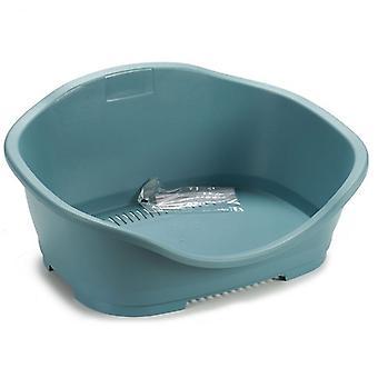 Lit pour chien Stefanplast Grey Plastic (42 x 24 x 56 cm)