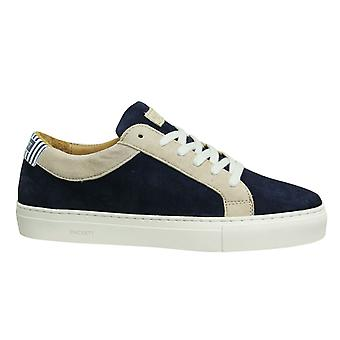 Hackett London Hunt Multi Colour Navy Lace Up Mens Cupsole Shoes HMS20809 5DD