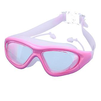 Swim Goggles,swimming Goggles Uv Protection Anti Fog No Leaking Large Frame Wide View Pool Goggles With Hard Protective
