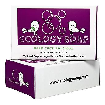 Ekologia Saippua Hippi Chick Patchouli Body Bar