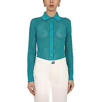 Bottega Veneta 648977v0bn03103 Dames's Groene Nylon Vest