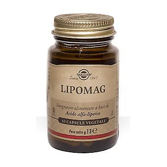 Alpha Lipoic Acid 50 vegetable capsules of 200mg