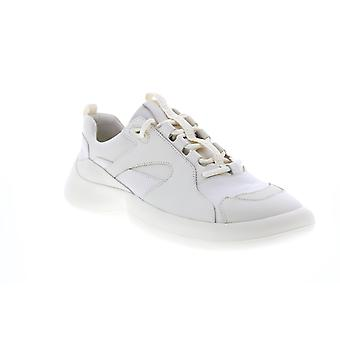 Camper ABS  Mens Beige Leather Lace Up Euro Sneakers Shoes