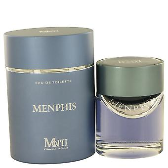 Menphis by Giorgio Monti Eau De Toilette Spray 3.6 oz / 106 ml (Men)