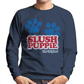 Slush Puppie Paws Logo The Original Men's Sweatshirt