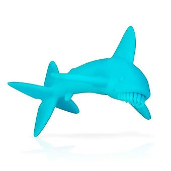 Nuby shark silicone teether
