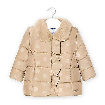 Mayoral baby girls beige coat 2410
