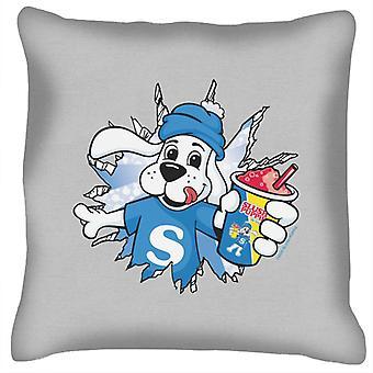 Slush Puppie Burst Through Cushion