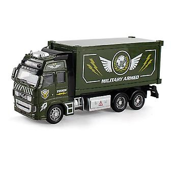 Diecast Metal Realistic Military Armed Truck Toy