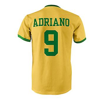 Adriano 9 Brazil Country Ringer T-Shirt