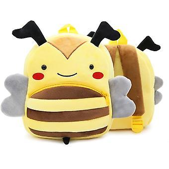 Kids Cute Animal Series Plush Backpack, Kindergarten,, Cartoon School Bag