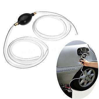 Fuel Primer Hand Siphon Pump - Gas, Petrol, Diesel, Liquid Water Transfer Hose