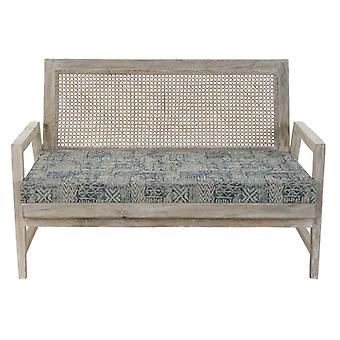 Armchair Dekodonia Cotton Mango wood (115 x 72 x 73 cm)
