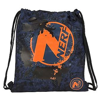 Backpack with strings nerf navy blue
