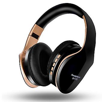 Chic wireless bluetooth headphones with microphone and sd card slot