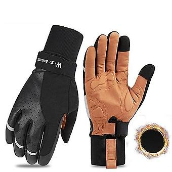Men & Women Winter Windproof Skiing Fitness Gloves