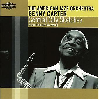 Benny Carter & amerikan Jazz - Central City skisser [CD] USA import