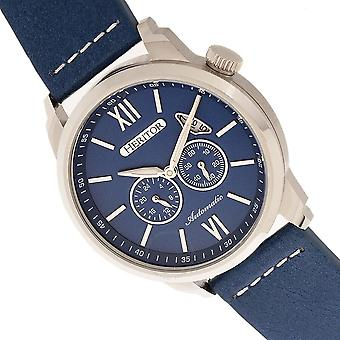 Heritor Wellington Automatic Blue Dial Men's Watch HR8202