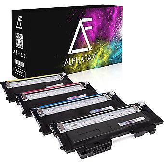 4 Toner kompatibel fr Samsung Xpress C430W/TEG C480W/TEG Farblaserdrucker - CLT-P404C/ELS - Schwarz