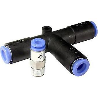 SMC Pneumatik SCHOTT Tube To Tube Adapter gerade, Anschluss A 10Mm B 10Mm