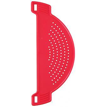 seula 28 cm polypropeeninpunainen