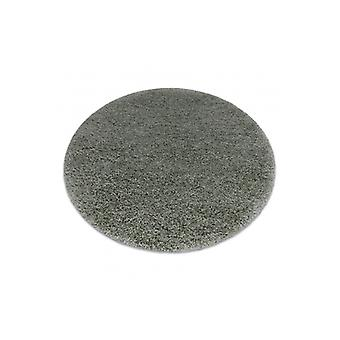 Rug SUPREME Circle 51201040 shaggy 5cm olive green