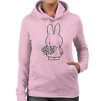 Nijntje Holding Madeliefjes Dames's Sweatshirt met capuchon