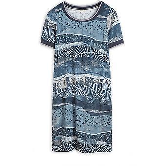 Sandwich Clothing Deep Water Patterned Dress