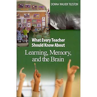 Vad varje lärare bör veta om att lära sig minne och hjärnan av Donna E. Walker Tileston
