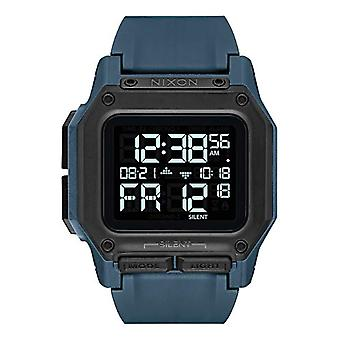 Nixon Men's Digital Watch with Synthetic Strap A1180-2889-00