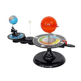 Diy zonnestelsel model globe aarde s-un maan orbitaal planetarium educatieve leermiddel